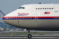 MAS 747 at Sepang