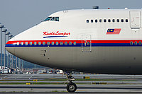 MAS 747 at Sepang