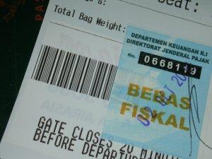Stiker Bebas Fiskal