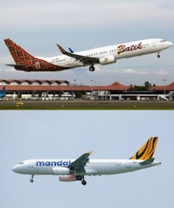 Usia pesawat airline Indonesia makin muda. Batik Air & Mandala Tiger