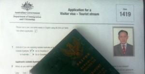 Visa Australia Form