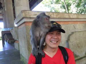 At Monkey Forest