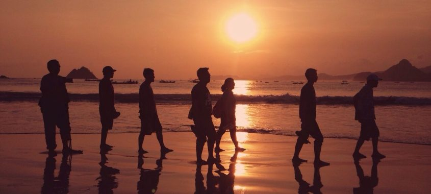Sunset at Selong Belanak Beach