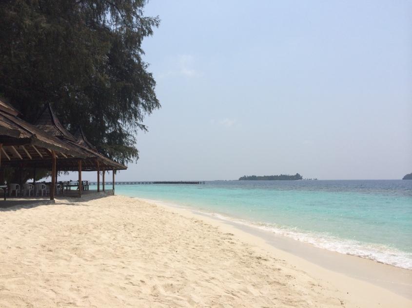White beach @Sepa Island