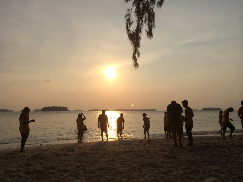 Sunset @Sepa Island