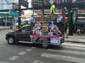 Promosi Thai Boxing