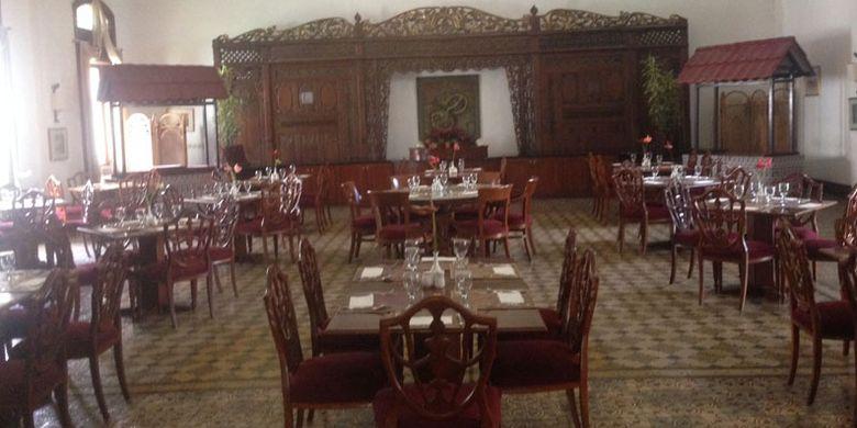 Restoran Hotel Kresna (Foto : Kompas)