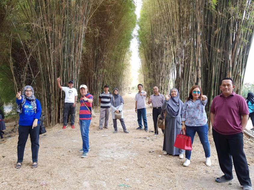 Kekinian @Hutan Bambu Sukolilo Surabaya