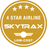 Skytrax Bintang 4 LOw Cost