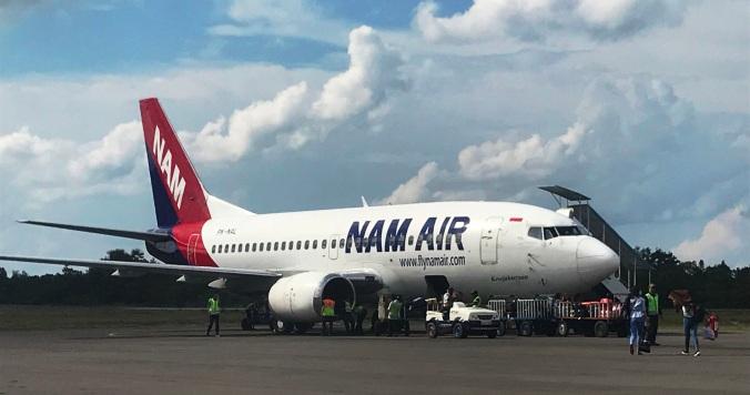 Nam Air (PK-NAL) at Iskandar Airport Pangkalan Bun