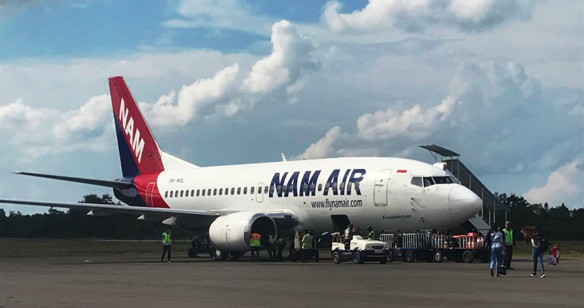 Nam Air (PK-NAL) at Iskandar Airport Pangkalan Bun