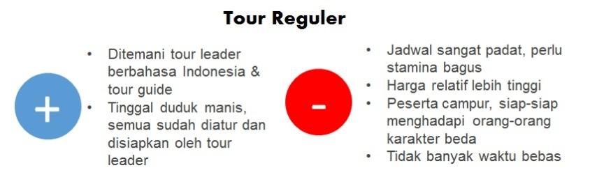 Reguler Tour