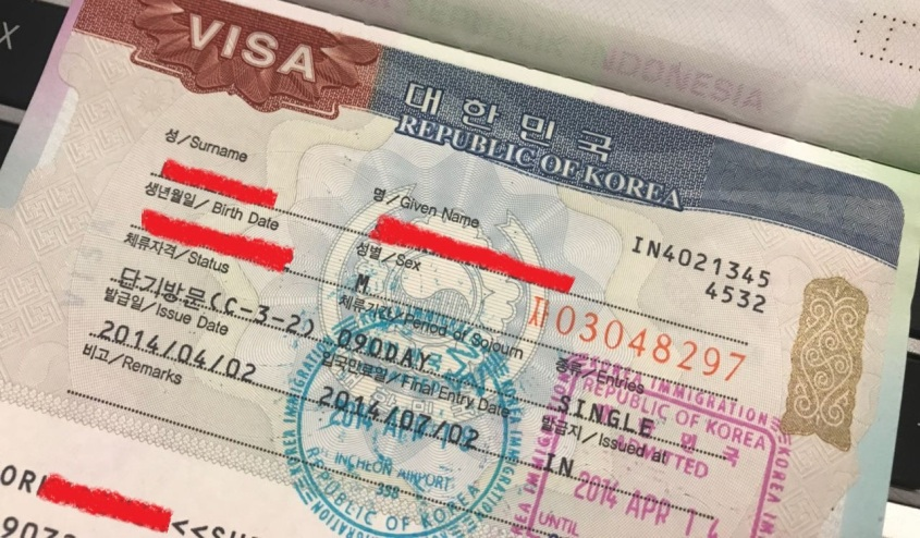 Single Visa Korea Selatan