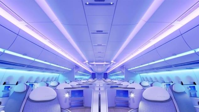 A350-900ULR Cabin