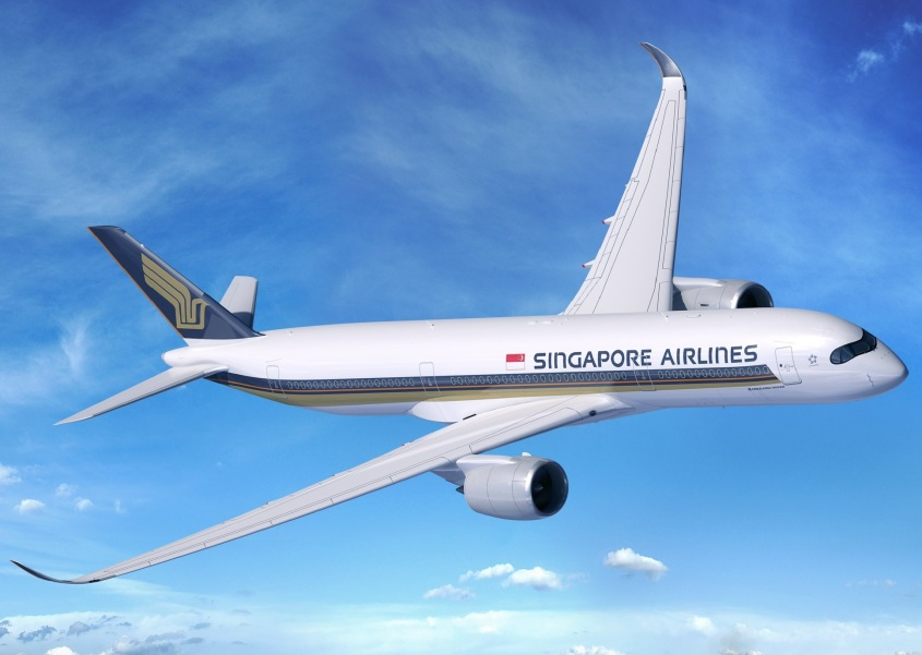 Singapore Air A350-900 ULR (foto : Airbus)