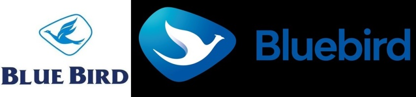 Blue Bird Logo old v new