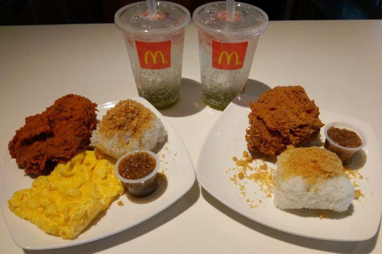 Bukan iklan : McD Ayam Kremes Sambal Matah