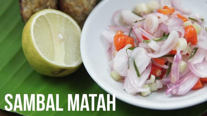 Sambal Matah (Foto : Tastemade)