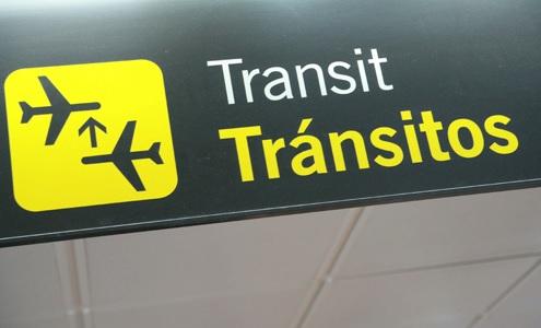 Transit Signage (foto : www.exteriores.gob.es)