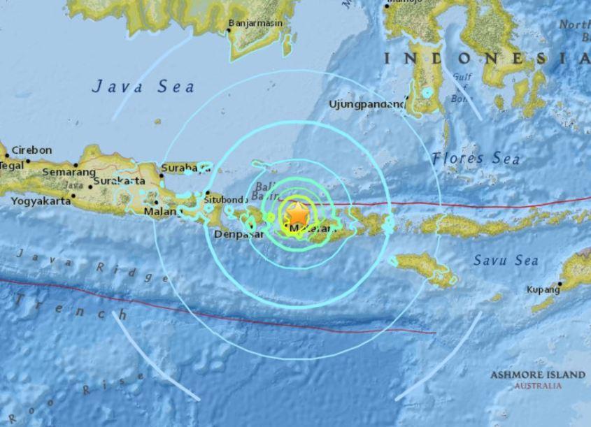 Lombok Earthquake (source : Science Global News)