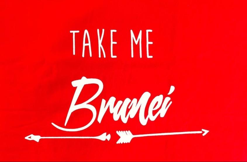 T-Shirt oleh-oleh Brunei
