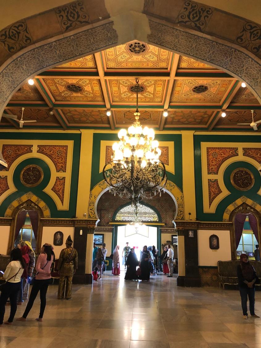 Sisi dalam Istana Maimun