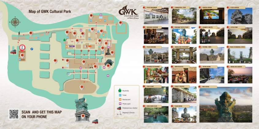 GWK Site Map