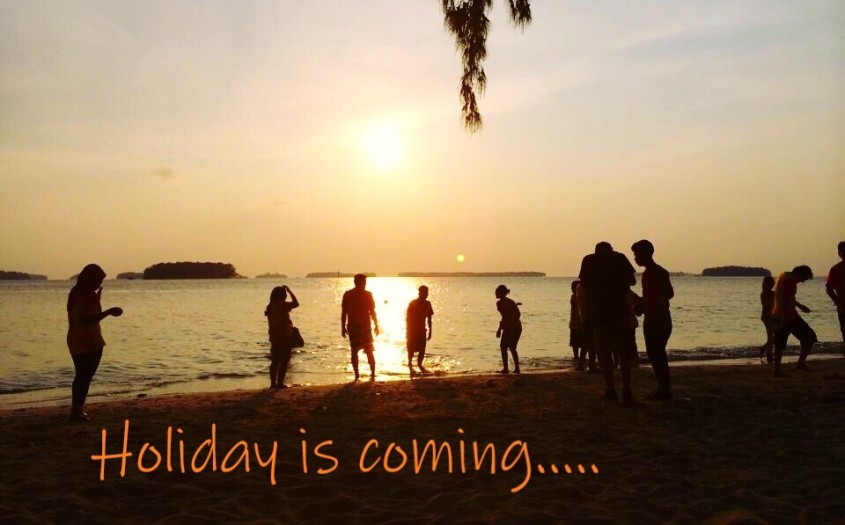 holiday is coming