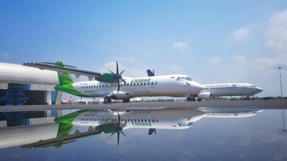ATR 72-600 Citilink (foto : Citilink Twitter)