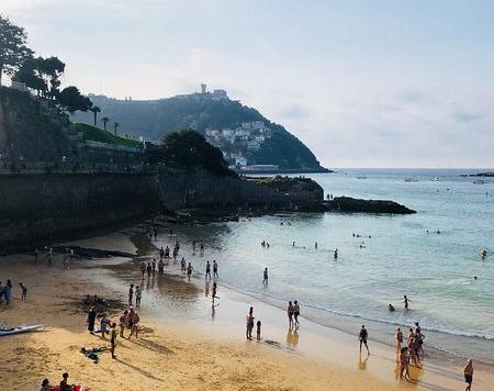 4. La Concha Beach Spanyol