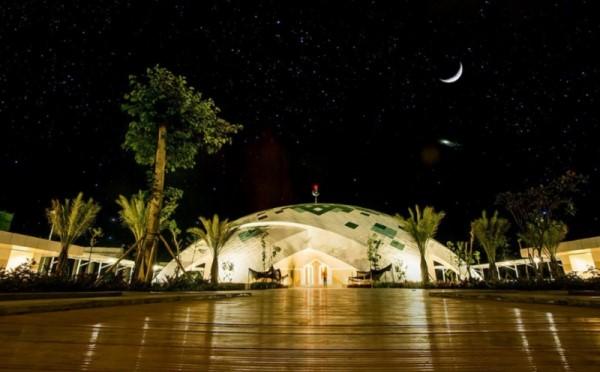 Masjid Al Akbar NYIA (foto : okezone)